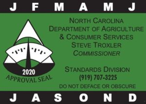 Cover photo for N.C. Department of Agriculture & Consumer Services Scale Certification - June 15