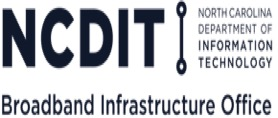 North Carolina Department of Information Technology Broadband Infrastructure Office Logo