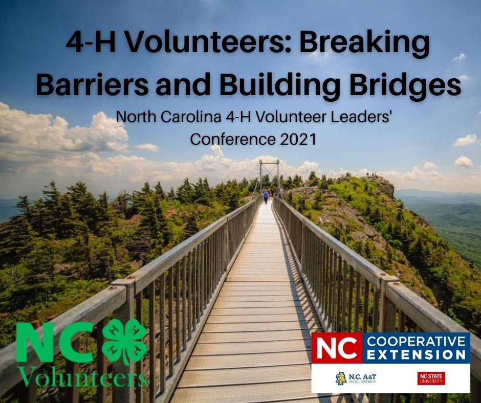 North Carolina 4-H Volunteer Leader' Conference 2021 Flyer