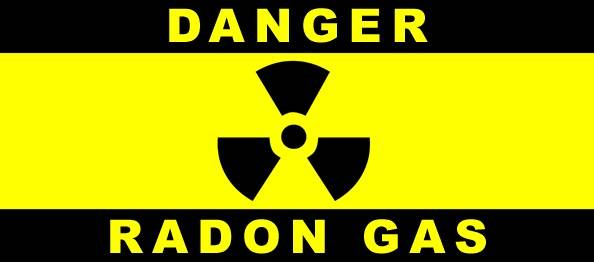 Danger Radon Gas