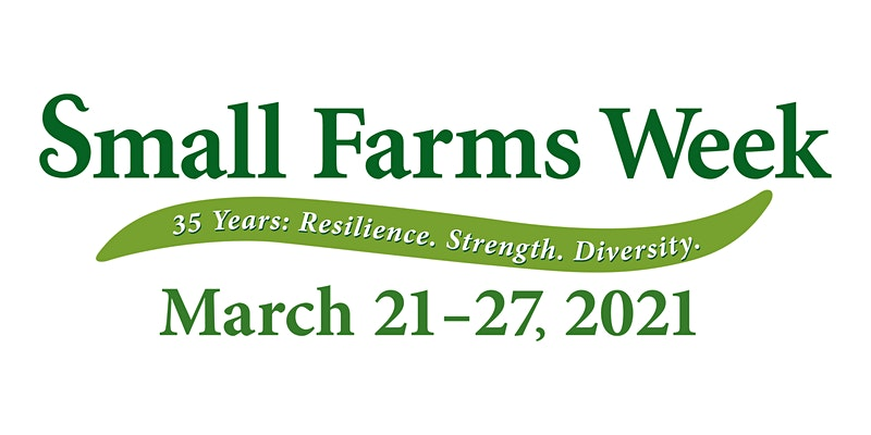 2021 Small Farms Week Logo