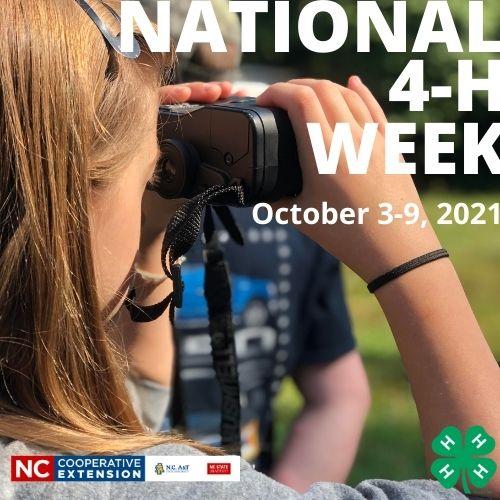 National 4-H Week Dates